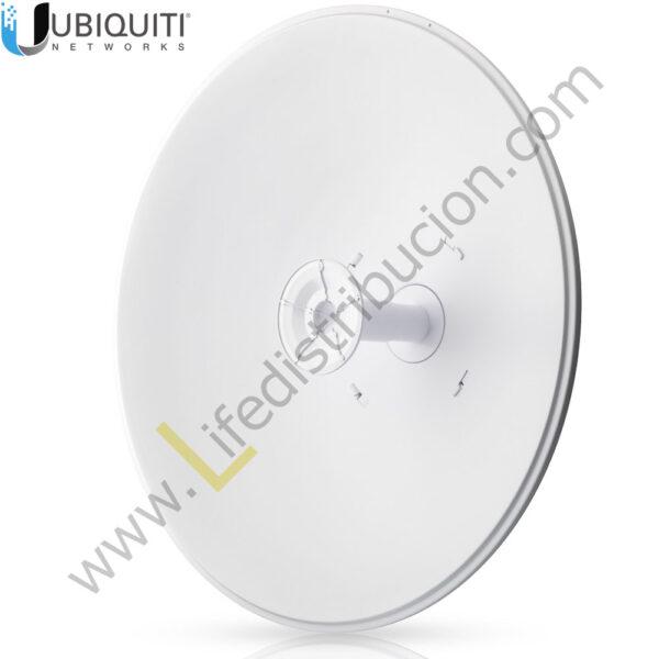 AF-5G30-S45 5 GHz Antena Dish para airFiber AFX, Ganancia: 30 dBi, Slant 45 1