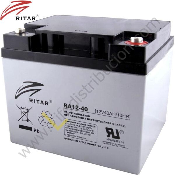 RA12-40 BATERIA RECARGABLE 1