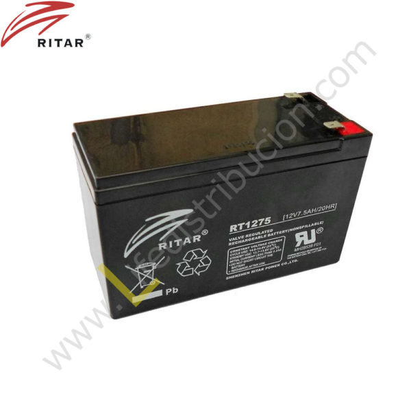 RT12-75 BATERIA RECARGABLE 1
