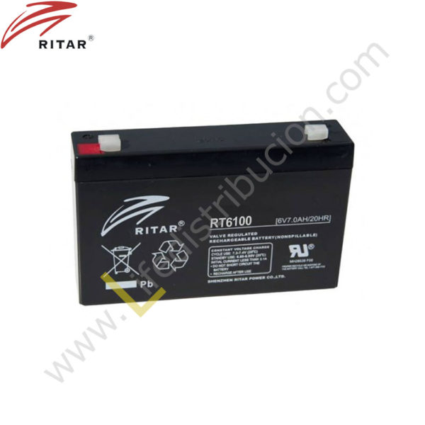 RT6100 BATERIA RECARGABLE 1