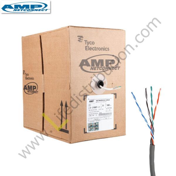 142725-4 AMP CABLE UTP CAT