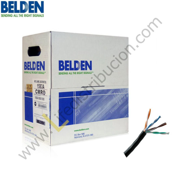 1583A BELDEN CABLE UTP CAT5E 4Px23 AWG 1