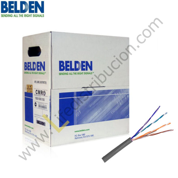 1592A BELDEN CABLE UTP CAT5E 4Px24 AWG MULTIFILAR 1