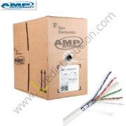 1859218-2 AMP CABLE UTP CAT. 6A CHAQUETA LSZH IEC-60332-1 Blanco
