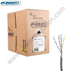 1859381-2 AMP CABLE UTP CAT. 6A CHAQUETA LSZH IEC-60332-3 Blanco