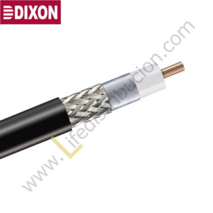 3010P DIXON CABLE COAXIAL FLEX 5 (Rll 500Mts) Doble malla 80-90%