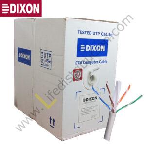 3050 DIXON CABLE UTP CCA CAT.5E 4P x 24AWG CM Gris