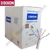 3060 DIXON CABLE UTP CCA CAT.6 4P x 23AWG CM Gris