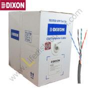7050 DIXON CABLE UTP CAT. 5E 4Px24 AWG CM Gris