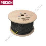 7070 DIXON CABLE UTP CAT. 5E 4Px24 AWG Exteriores (con gel)Negro