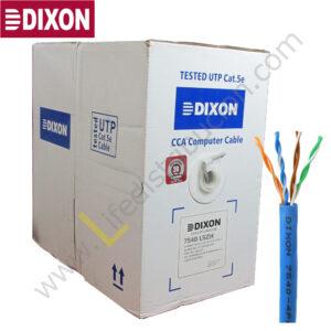 7540 LSZH DIXON CABLE MULTIF. CAT.5E 4Px24 AWG LSZH BL-BK-RD-GY-YL
