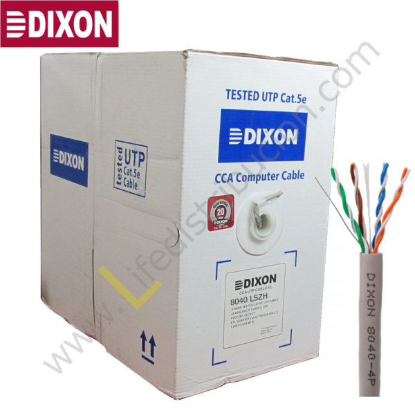 8040 LSZH DIXON CABLE STP CAT