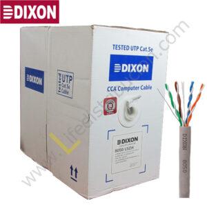 8050 LSZH DIXON CABLE SFTP CAT. 5E 4Px24 AWG LSZH Gris