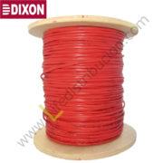 9010 DIXON CABLE CONTRA INCENDIO 2x18 AWG LSZH Rojo