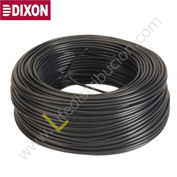 8010 LSZH DIXON CABLE INSTRUMENTACION 1Px18 AWG + TIERRA LSZH Negro 1