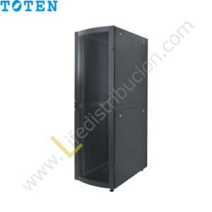 G3.6027.9801 27RU (Alto 1.40 Ancho 0.60 Prof. 1.00) puerta delantera microperforada y posterior doble microperforada
