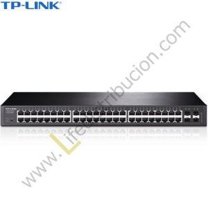 T1600G-52TS TP-LINK 48PORT PURE-GIGABIT + MART SWTCH