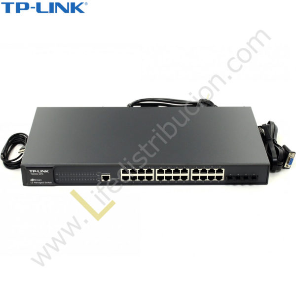 T2600G-28TS TP-LINK SWITCH GIGABIT L2 24 PUERTOS JETSTREAM 1