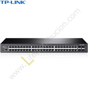 T2600G-52TS TP-LINK SWITCH GIGABIT L2 48 PUERTOS JETSTREAM