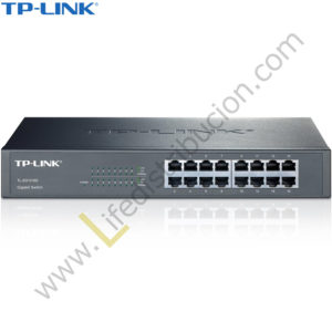 TL-SG1016D TP-LINK SWITCH GIGABIT DE 16 PUERTOS DESKTOP METALICO