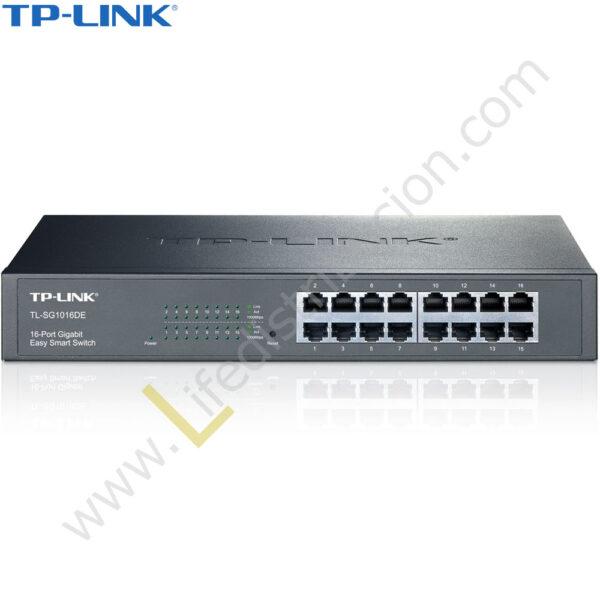 TL-SG1016DE TP-LINK SWITCH GIGABIT DE 16 PUERTOS EASY SMART 1