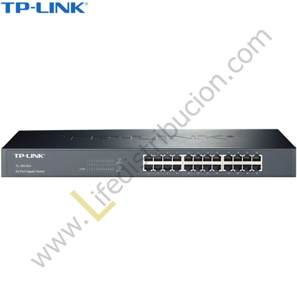 TL-SG1024 TP-LINK SWITCH 24 PUERTOS 10/100/1000 MBPS 1