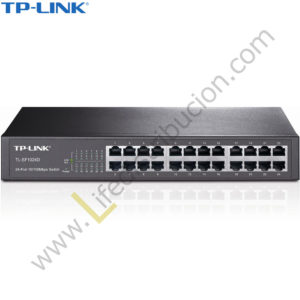 TL-SG1024D TP-LINK SWITCH GIGABIT DE 24 PUERTOS DESKTOP METALICO