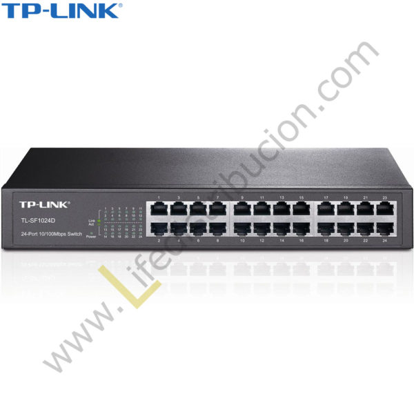 TL-SG1024D TP-LINK SWITCH GIGABIT DE 24 PUERTOS DESKTOP METALICO 1