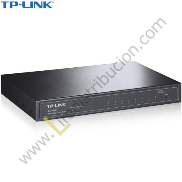 TL-SG2008 TP-LINK 8PORT PURE-GIGABIT + SMART SWICHT 1