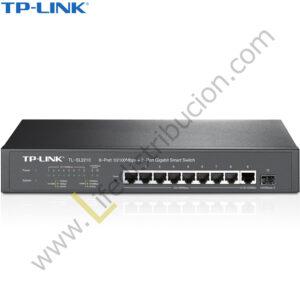 TL-SL2210 TP-LINK SWITCH 8 PUERTOS 10/100 + 2 PUERTOS GIGABIT