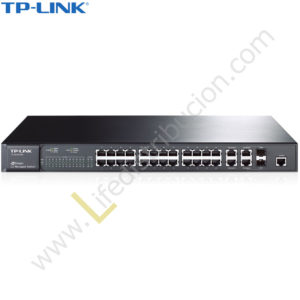 TL-SL5428E TP-LINK SWITCH ADMINISTRABLE 24P 10/100 + 4P GIGABIT L2