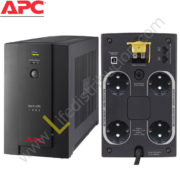 BX1400U-MS BX1400U-MS 1400VA 230V, AVR UNIVERSAL AND IEC SOCKETS