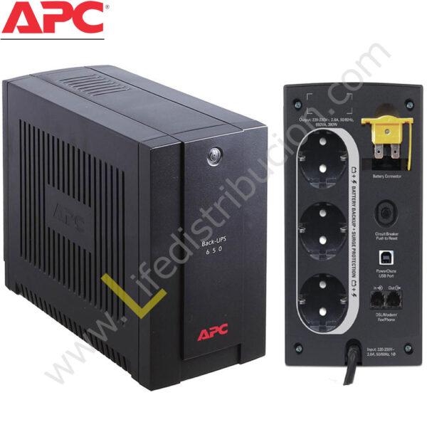BX650CI-MS BX650CI-MS 650VA APC BACK-UPS 650VA, AVR, 230V, ASEAN 1