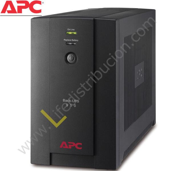 BX950U-MS 950VA BX950U-MS APC 230V, AVR UNIVERSAL AND IEC SOCKETS 1