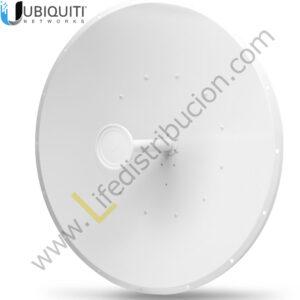 AF-5G34-S45 5 GHz Antena Dish 5 GHz para airFiber AFX, Ganancia: 30 dBi, Slant 46