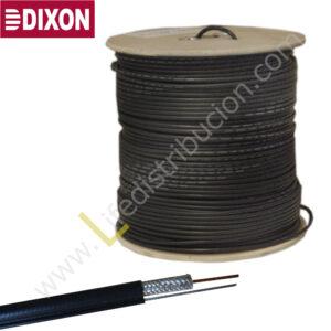1080-K DIXON CABLE COAXIAL RG-6 (malla 90%)