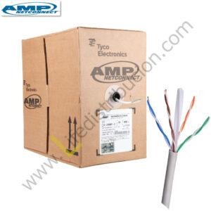 1859345-2 AMP CABLE UTP CAT. 6 CHAQUETA LSZH IEC 60332-3 Blanco