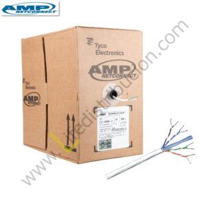 219585-2 AMP CABLE UTP CAT. 6 CHAQUETA LSZH IEC 60332-1 Blanco