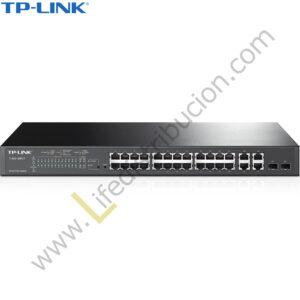 T1500-28PCT TP-LINK 24PORT 10/100MBPS+4PORT GIGABIT POE+SMARTSWITCJ