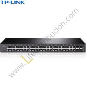 T1600G-52TS TP-LINK 48PORT PURE-GIGABIT + MART SWTCH