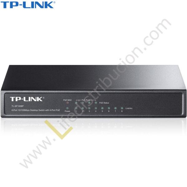 TL-SG1008P TP-LINK SWITCH 8 PUERTOS 10/100/1000 MBPS 1