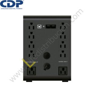 R-Smart 1210i 1200VA/720W R-SMART 1210I 220V, 10 TOMACORRIENTES